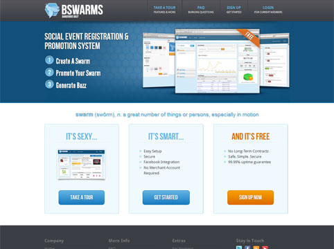 Bswarms: Social Event Promotion System